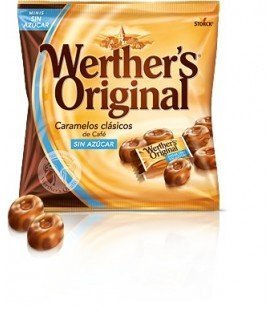 WERTHERS ORIGINAL SIN AZUCAR CAFE 1KG