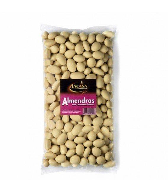 LACASA ALMENDRAS DE CHOCOLATE BLANCO 1KG