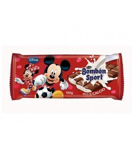 LACASA TABLETA CHOCOLATE BOMBON DISNEY 125GRS