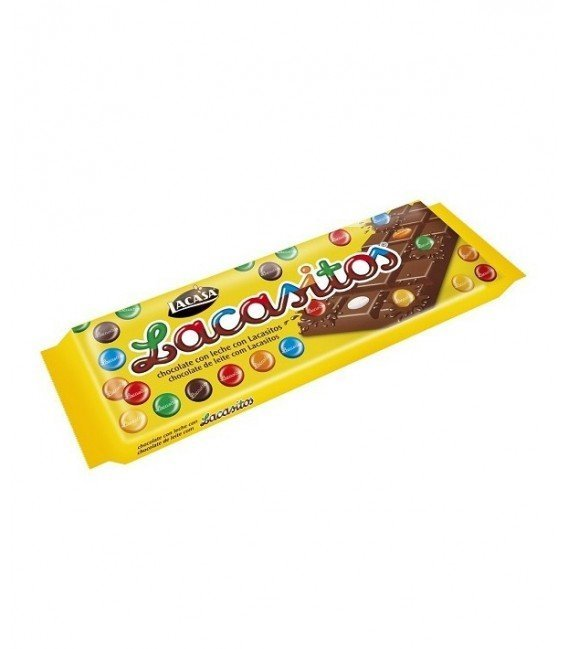 LACASA PACK TABLETAS CHOCOLATE CON LECHE DE LACASITOS 10 UD