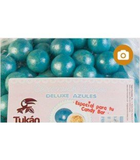 BOLAS CHOCO CRUNCH DELUXE AZULES 1KG
