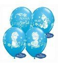 GLOBOS DE LATEX FROZEN 8UDS