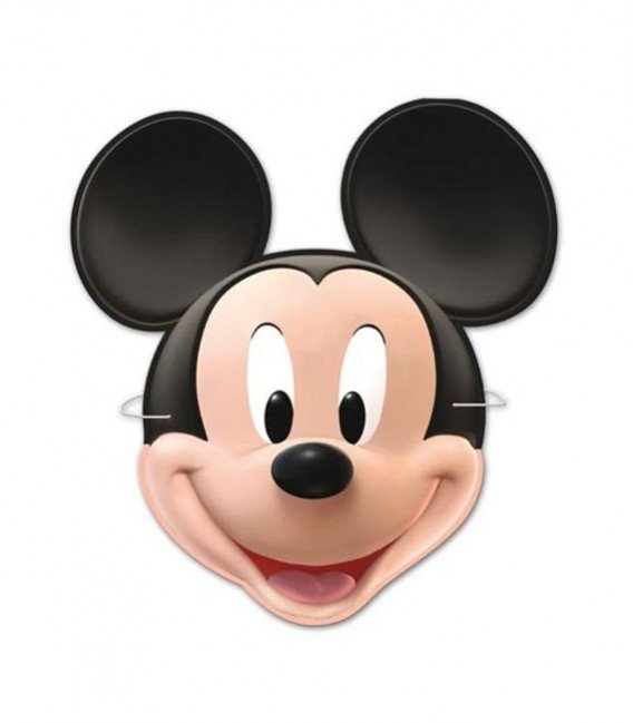 CARETAS MICKEY 6UDS