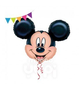 GLOBO METALICO SUPER SHAPE GIGANTE MICKEY
