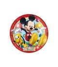 PLATOS MICKEY PLAYFUL 23CM 8 UDS