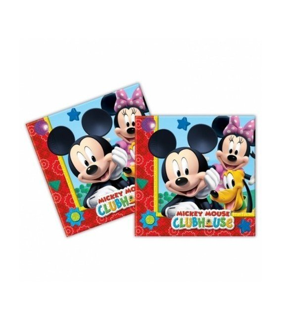SERVILLETAS MICKEY PLAYFUL 20 UDS