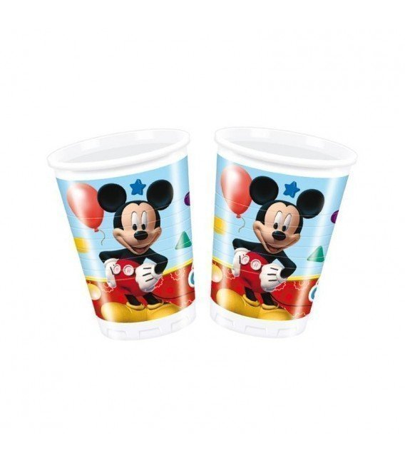 VASOS MICKEY MOUSE 8 UDS