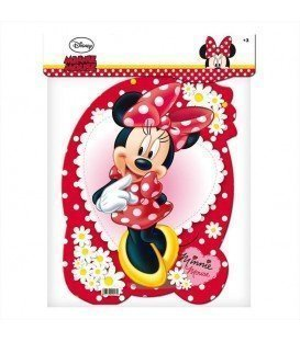 PIÑATA PERFIL MEDIANA MINNIE MOUSE