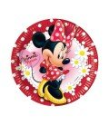 PLATOS 23CM MINNIE MOUSE 8 UDS