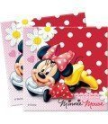 SERVILLETAS LUNARES MINNIE 20 UDS