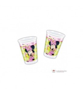 VASOS MINNIE 8 UDS