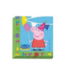 SERVILLETAS PEPPA PIG 20UDS