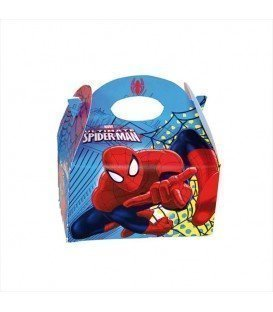 CAJITA DE CHUCHES SPIDERMAN 15UDS