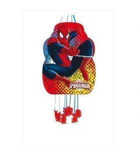 PIÑATA PERFIL MEDIANA SPIDERMAN