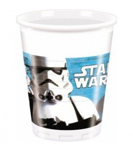 VASOS STAR WARS 8 UDS