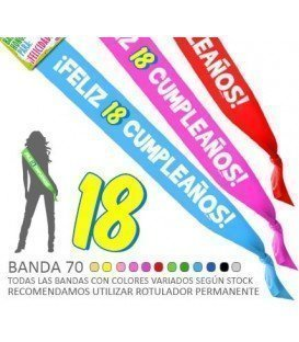 FELIZ BANDA 18 ANIVERSÁRIO