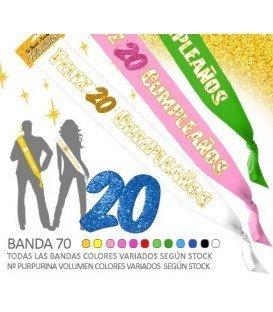FELIZ ANIVERSÁRIO BANDA 20
