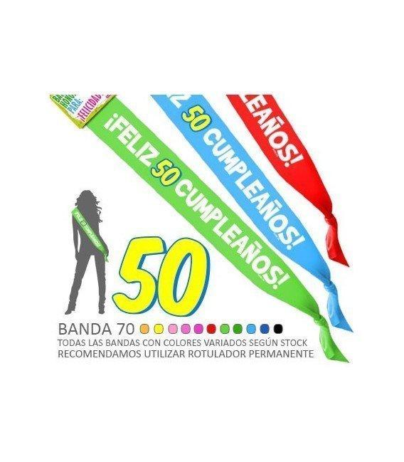 BANDA  FELIZ 50 CUMPLEAÑOS