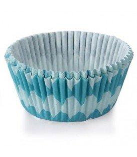 PAPEL CUP CAKE 75 UNIDADES COLORES