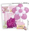 KIT BLOBO FLOR EDITABLE COMUNION ROSA