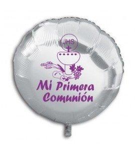 GLOBO POLIAMIDA 46 CM PRIMERA COMUNION