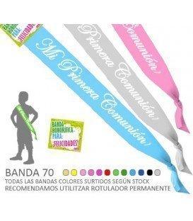 BANDAS HONORIFICAS PRIMERA COMUNION