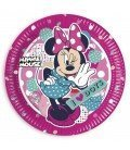 PLATOS 23CM MINNIE MOUSE DOTS 8 UDS