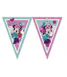 BANDERIN POLYBAG MINNIE DOTS 2.3 MTS