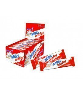 MILKY WAFER CHOCOLATINAS BARQUILLO 24 UDS X 60 GRS