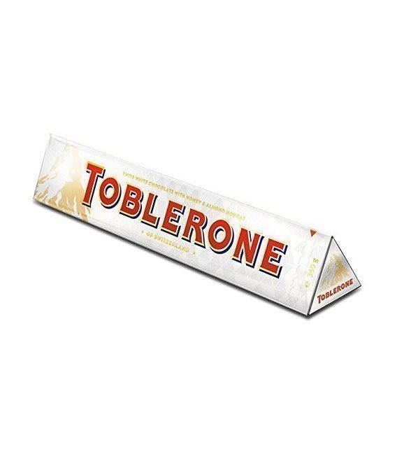 TOBLERONE CHOCOLATE BLANCO GIGANTE 360GRS