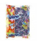 PIRULETAS AZULES PINTALENGUAS LOLLY POP 150UDS