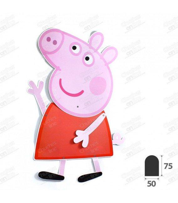 FIGURA ARTICULADA PEPPA PIG 90CM