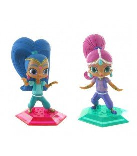MUÑEQUITAS COMANSI SHIMMER AND SHINE 2UDS