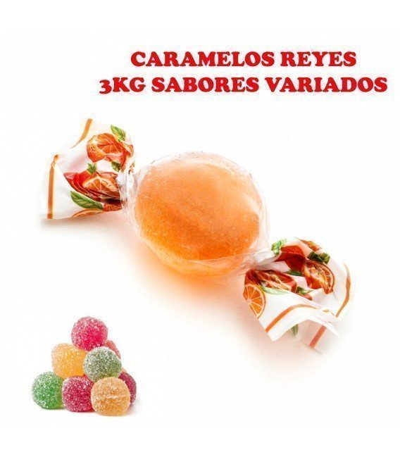 CARAMELOS BLANDOS REYES 3KG