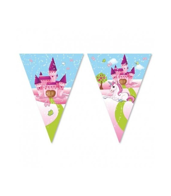 BANDERIN UNICORNIO MAGIC 3MTS