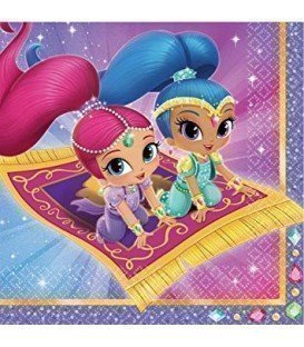 SERVILLETAS SHIMMER AND SHINE 20UDS