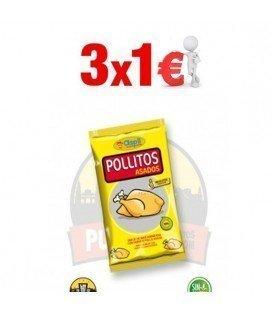 POLLITOS ASADOS ASPIL 29G 3 X 1,20 €
