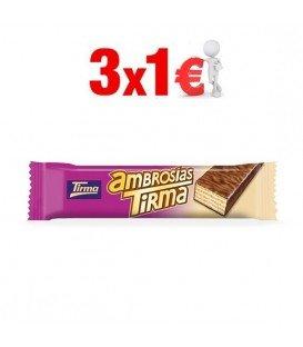 TIRMA CHOCOLATE CON LECHE 3x1€