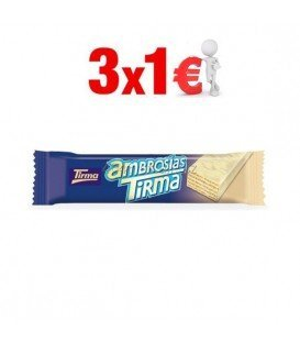 TIRMA CHOCOLATE BLANCO 3x1€