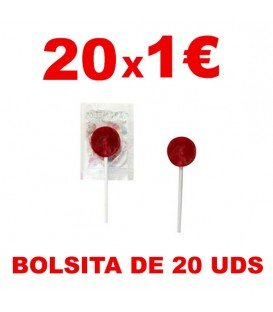 PIRULETAS AZULES PINTALENGUAS LOLLY POP 200UDS