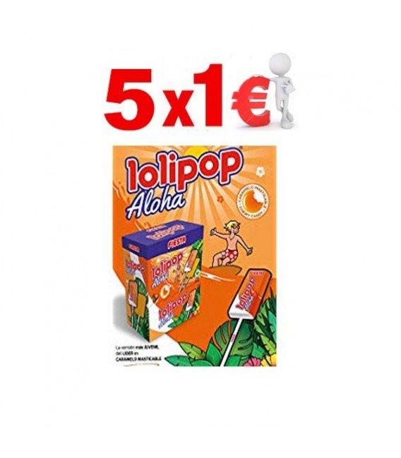 LOLI POP SABOR TROPICAL 5X1€