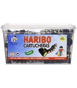 HARIBO CARTUCHERAS REGALIZ 150 UDS