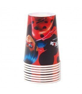 VASOS LADY BUG 8 UDS