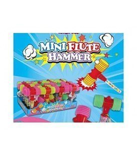 FLUTE HAMMER JUGUETE CON CHUCHES 30 UDS