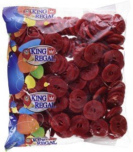 DISCOS REGALIZ FRESA KING REGAL 1KG