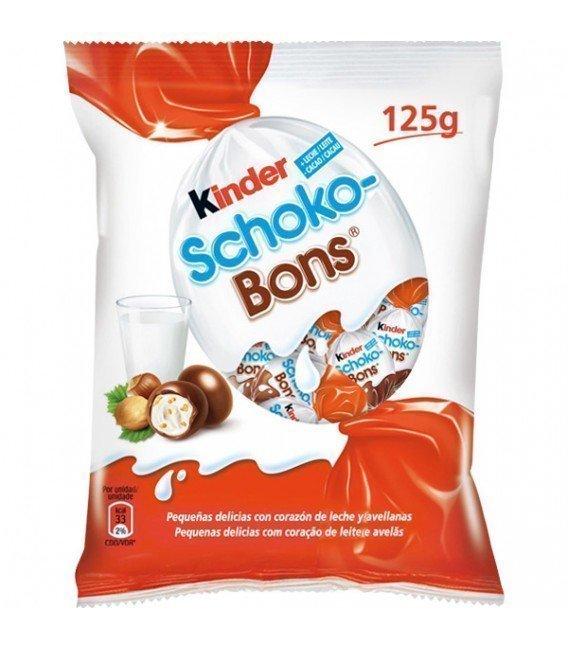 KINDER SCHOCOBONS 125GRS