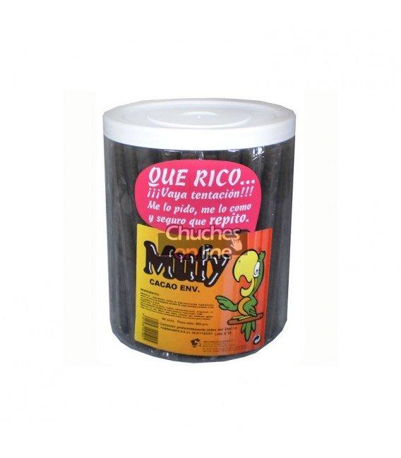 MUFY BARQUILLOS DE CHOCOLATE NEGRO 90U