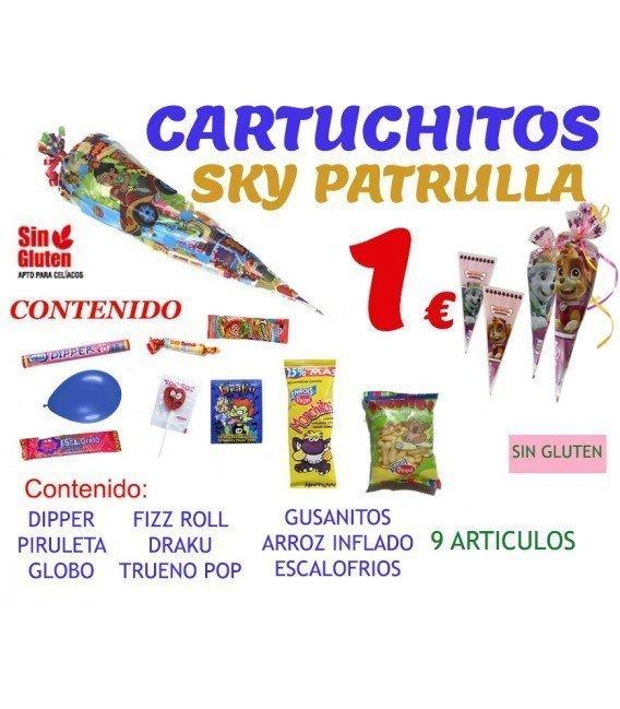 CONOS DE CHUCHES PARA CUMPLEAÑOS EXTRA SKY