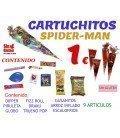 CONOS DE CHUCHES PARA CUMPLEAÑOS EXTRA SPIDERMAN