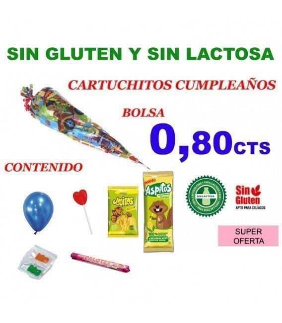 BOLSA 25 CONOS CUMPLEAÑOS